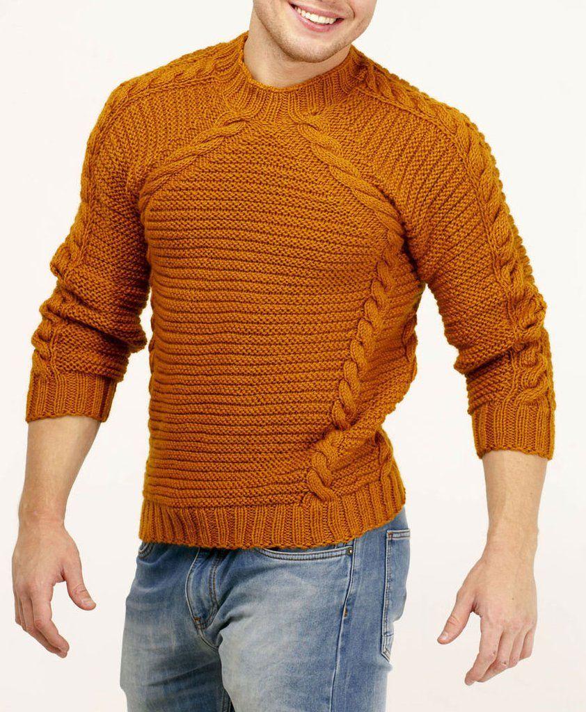 Вязание для мужчин в картинках