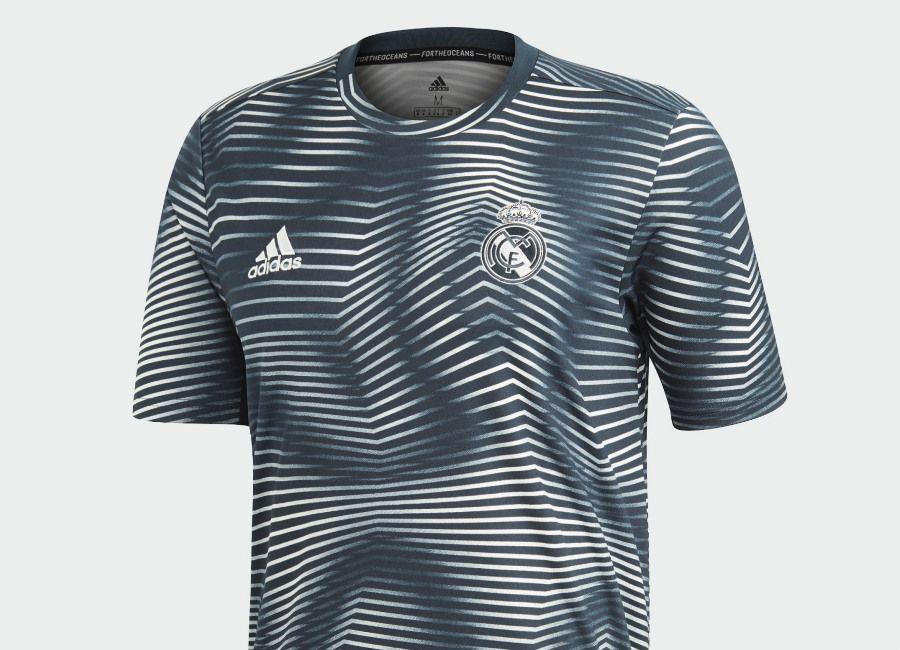 918811fcb  realmadrid  adidasfootball Adidas Real Madrid Pre-Match Jersey - Tech Onix    Core White