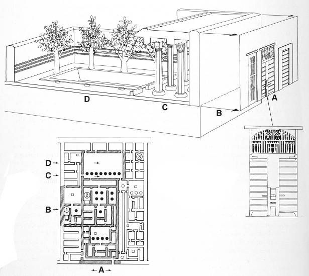 Reconstruction drawing of one of the 10 ancient egyptian houses reconstruction drawing of one of the 10 ancient egyptian houses found at kahun faiyum ccuart Choice Image