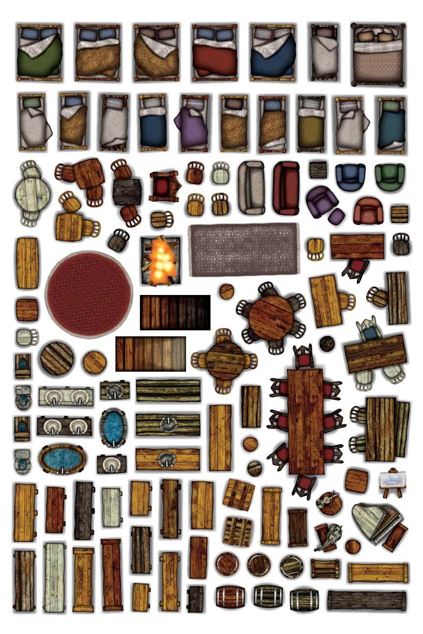 Object sheets home furniture arcknight cartes de