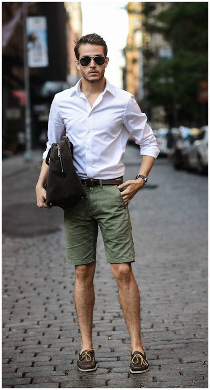 Men s fashion guide to Spring Summer  What Shoes to Wear with Shorts ... ea75bc1be