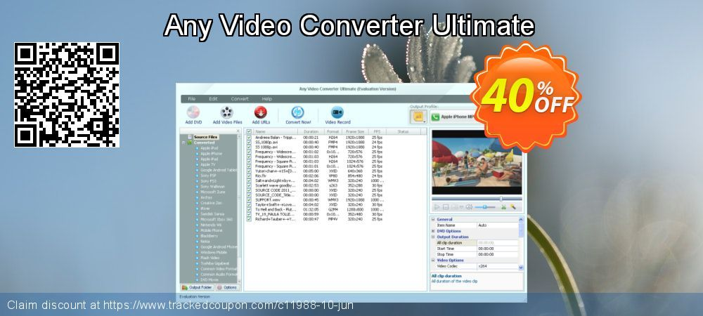 28 Off Any Video Converter Ultimate For Mac Promo Coupon Code On