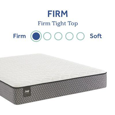 Response Essentials 8 5 Firm Innerspring Mattress And Box Spring Mattress Size Twin Xl Box Spring Height Low In 2020 Mattress Box Springs Mattress Sizes Mattress