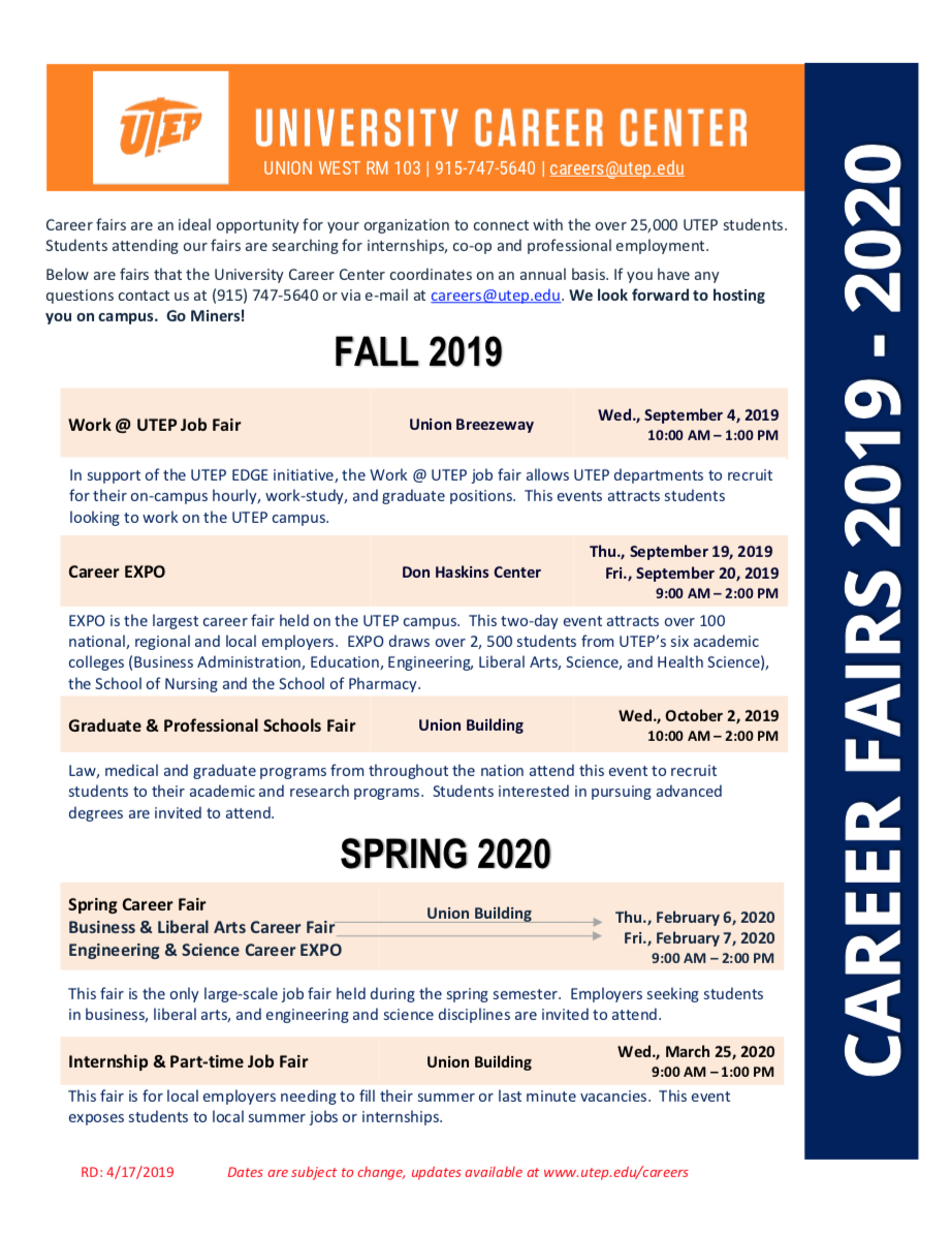 Utep Calendar.Pin By Calendar On Academic Calendar In 2019 Academic Calendar