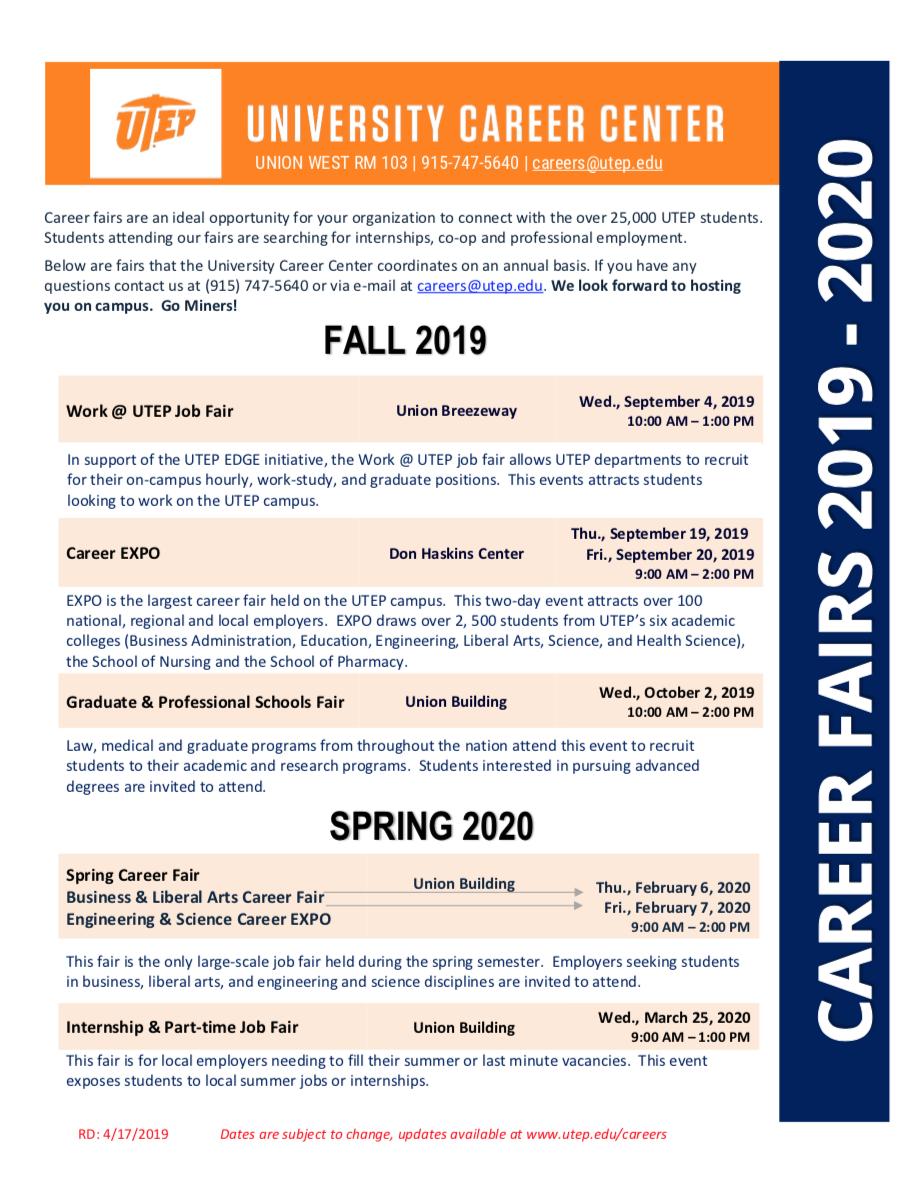 Utep Calendar Fall 2020 Pin by Calendar on Academic Calendar in 2019 | Academic calendar