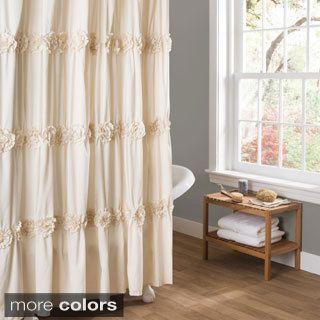 vintage shower curtain. Lush Decor Darla Shower Curtain Vintage