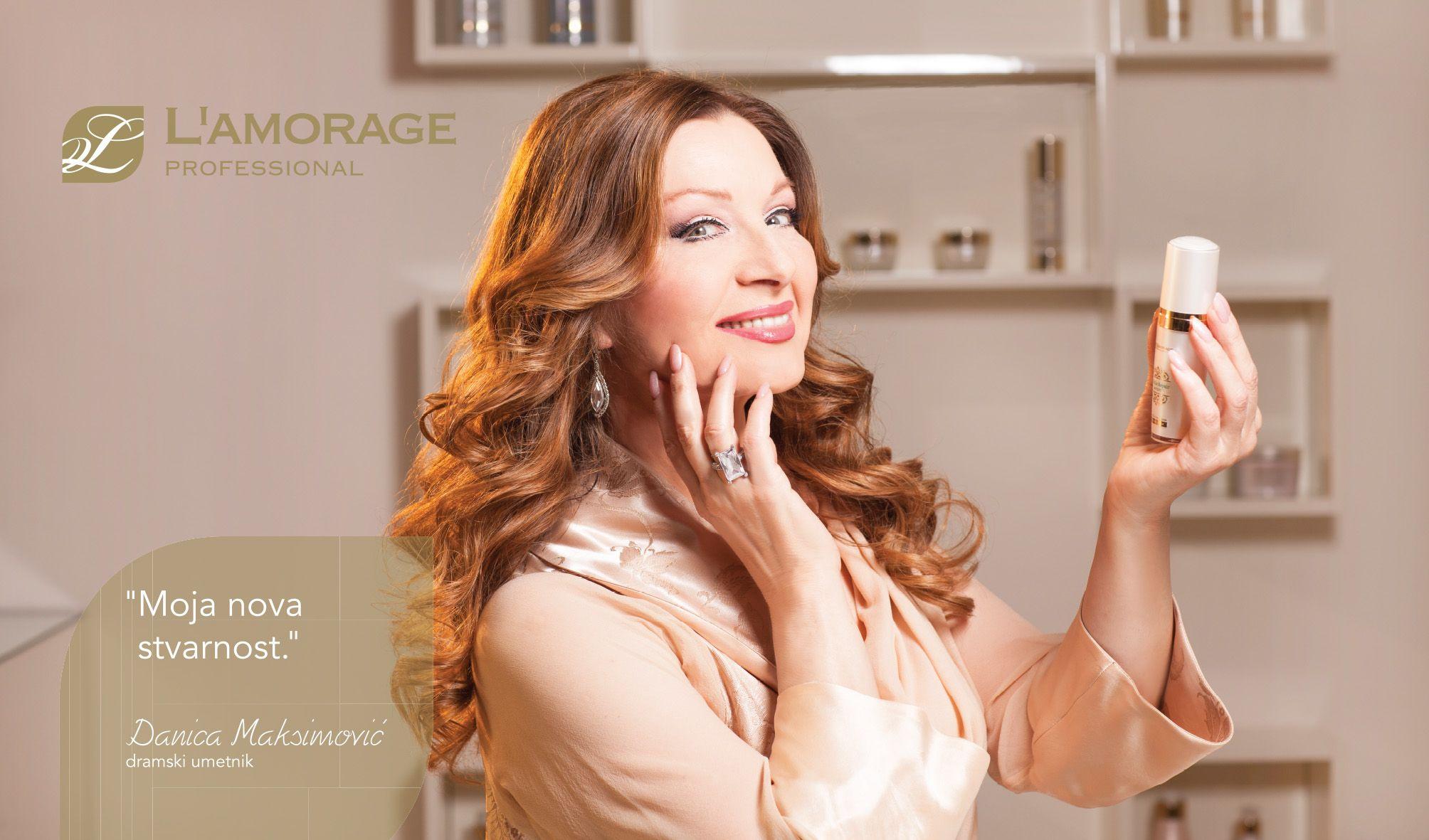 Famous Serbian stars admire the LAMORAGE cosmetic #