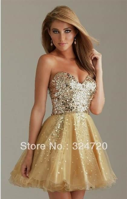 58eb3b2a00d76 Nice gold quinceanera dresses for damas
