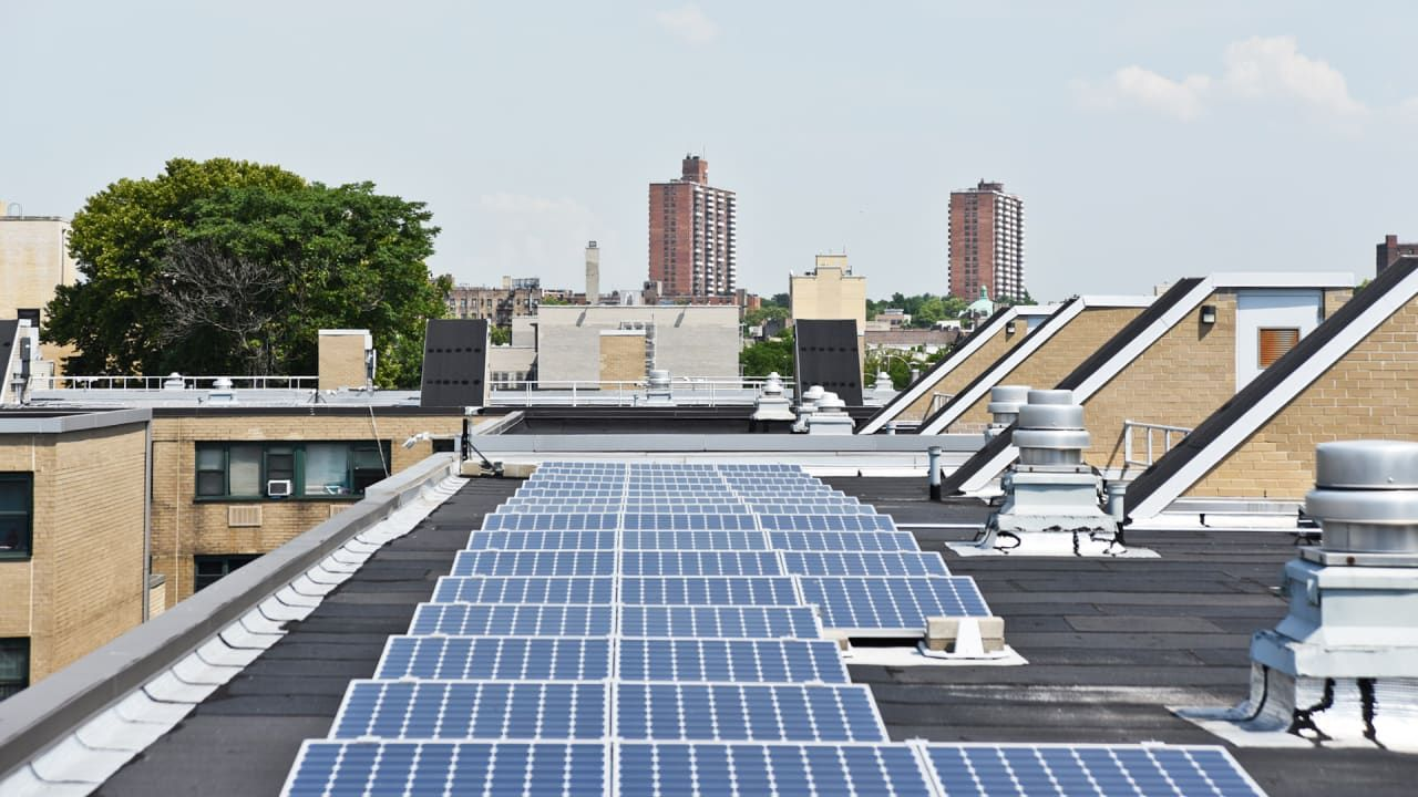 These Apartments Microgrid Is A Lesson In Urban Resilience Urban Apartment Apartment Complexes