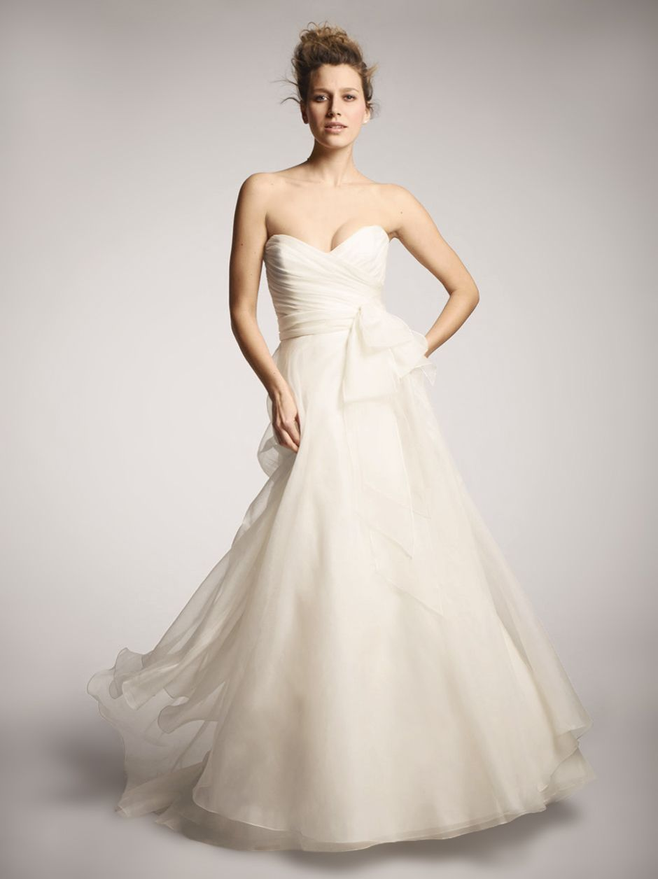 NOUVELLE Amsale A Line Ballgown Exclusively At Nordstrom Wedding