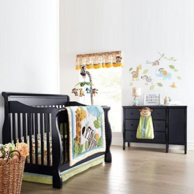 Bily \'Sydney\' 4-In-1 Convertible Crib And Change Table Ensemble ...