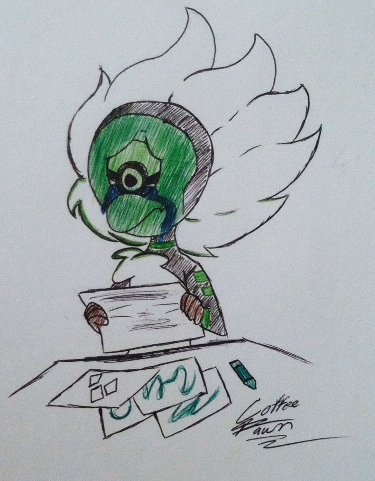 (30 minute challenge) Centi's Drawing [by Coffee]
