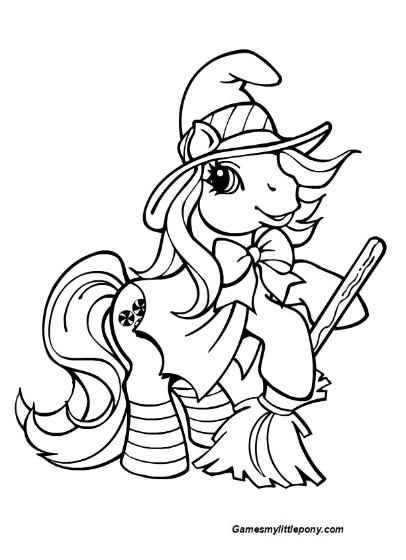 Halloween Braeburn Pony Unicorn Coloring Pages My Little Pony Coloring Horse Coloring Pages