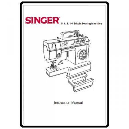 Instruction Manual Singer   Sewing    Singers