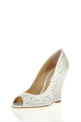 Oscar de La Renta #bridal #shoes