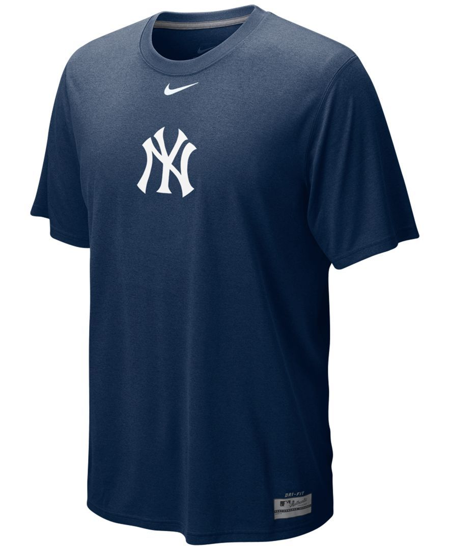 Nike Short-Sleeve Dri-fit New York Yankees Men s T-Shirt  93a4ba15a54