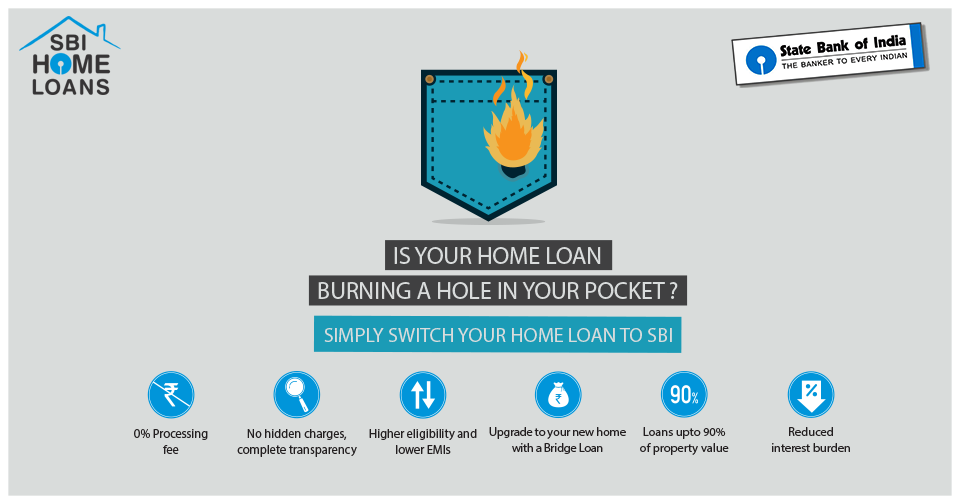 Switch Your Home Loan To Sbi And Reap The Best Of Benefits Owning A Home Doesn T Have To Burn A Hole In Your Pocket