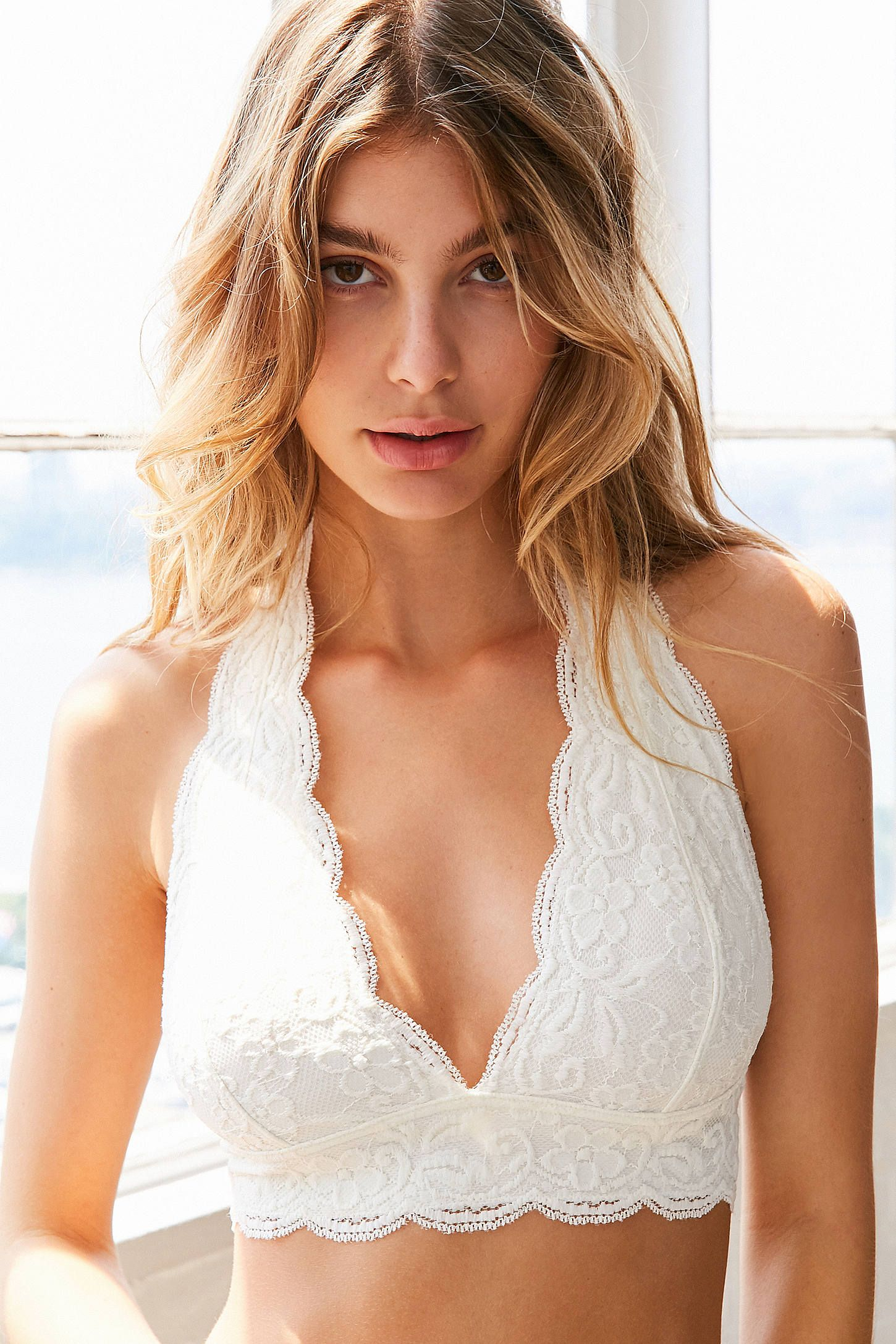 5f45d9ef9c Shop Out From Under Lace Halter Bra at Urban Outfitters today. We carry all  the latest styles