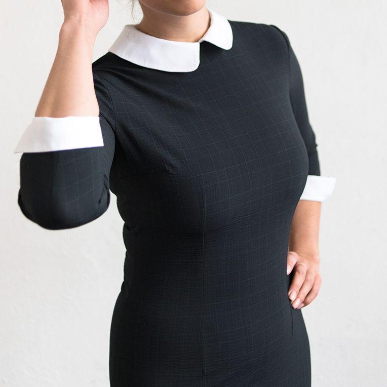 Selber Naehen Vorlagen: Free Pattern - Glencheck-Kleid (17/3)