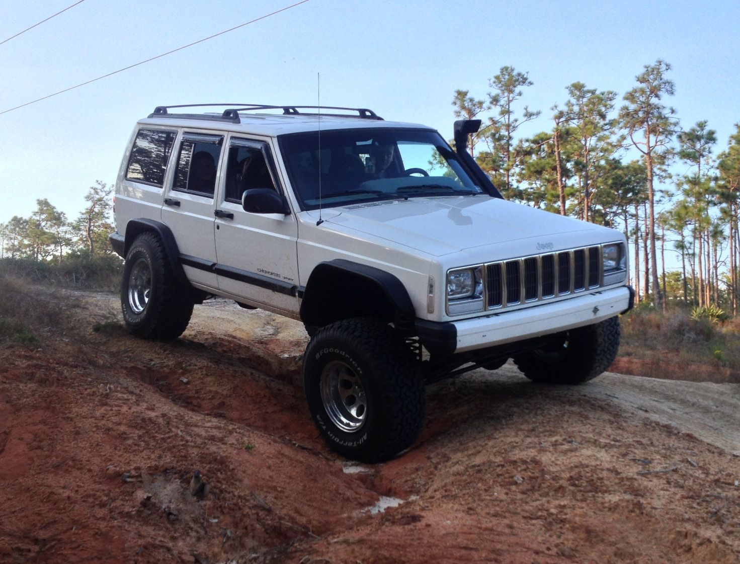 Jeep cherokee xj front bumper jeep cherokees pinterest jeep cherokee xj cherokee and jeeps