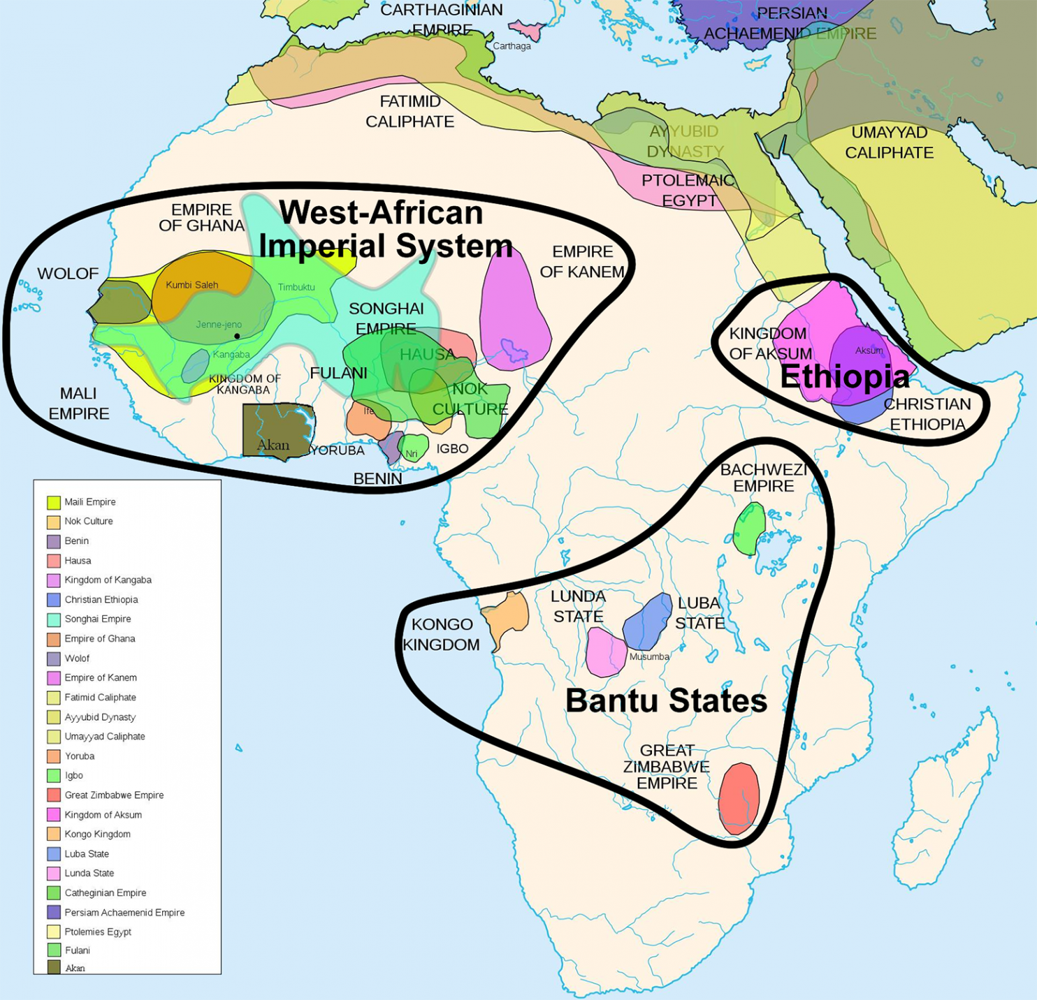 40 more maps that explain the world | Africa | African empires