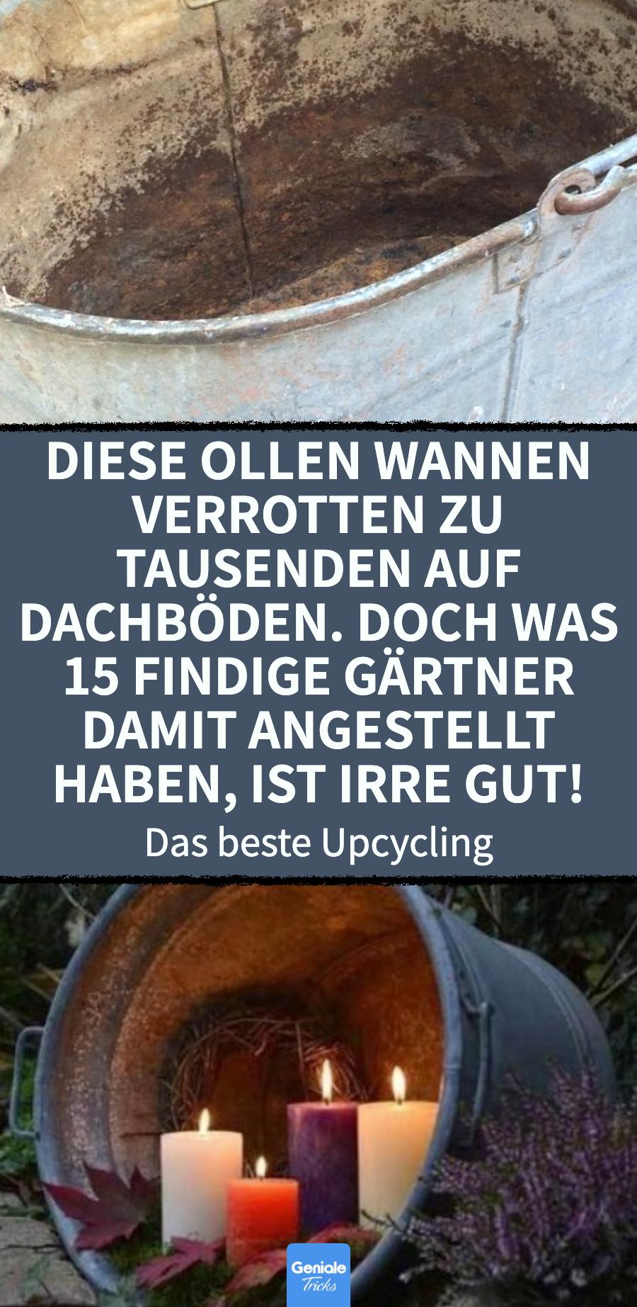 Photo of 15 Ideen, mit alten Kübeln den Garten aufzupeppen