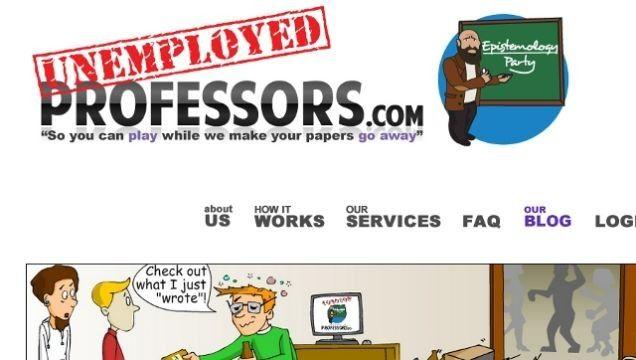 실직 교수가 논문 대신 써주는 서비스? -테크홀릭 http://techholic.co.kr/archives/55593