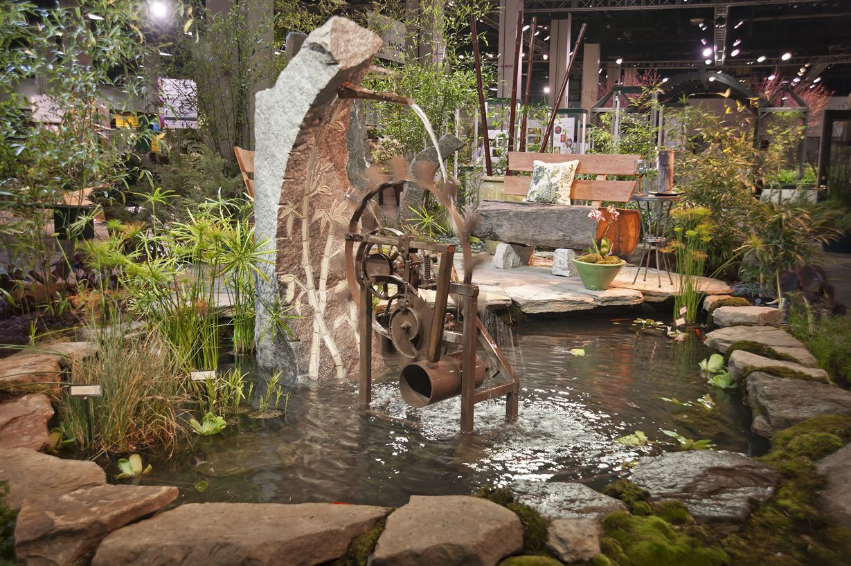 Boston Flower & Garden Show | Gardening | Pinterest | Water features ...