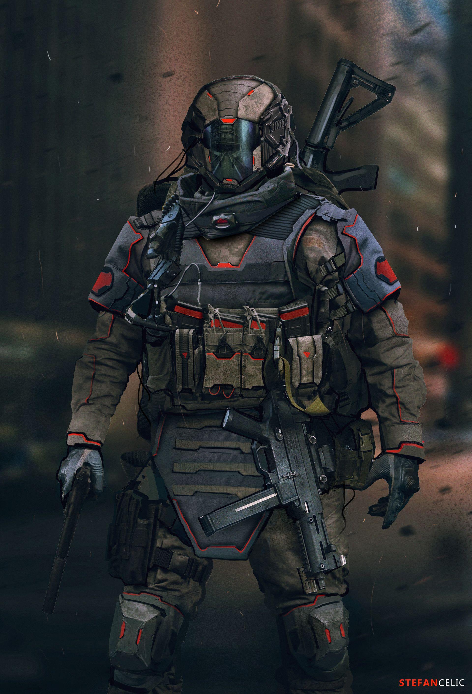 ArtStation - Soldier Concept, Stefan Celic   AAA in 2019 ...