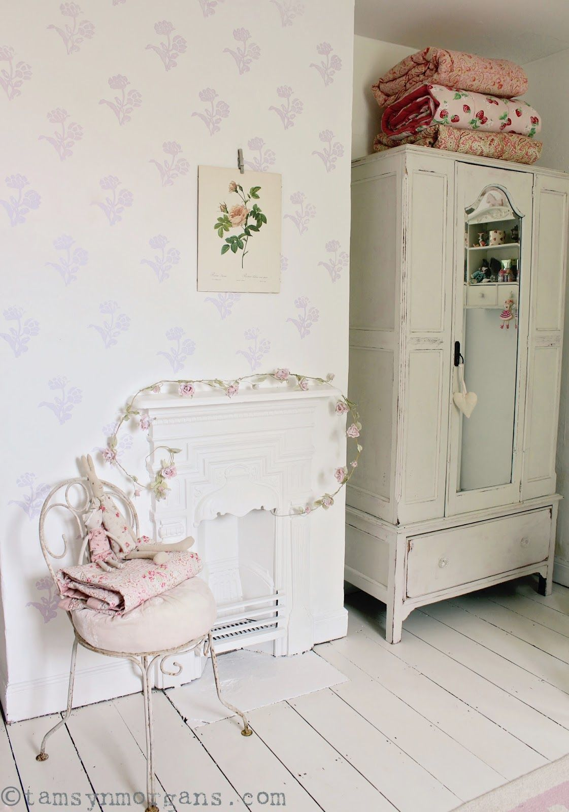 Laura Ashley Wall Stamps · Shabby Chic ...