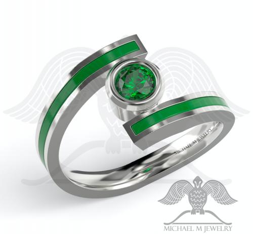 Green Lantern Ring Green Lantern Green Lantern Wedding Wedding Rings