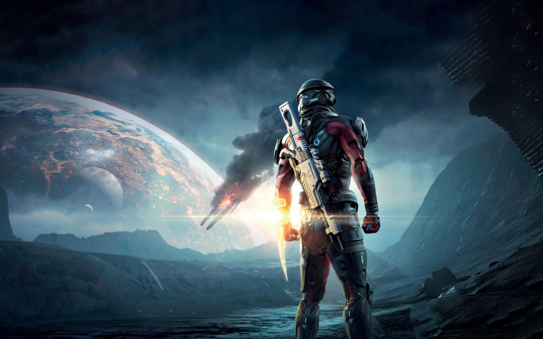 Mass Effect Andromeda 4K Games Wallpapers Pinterest