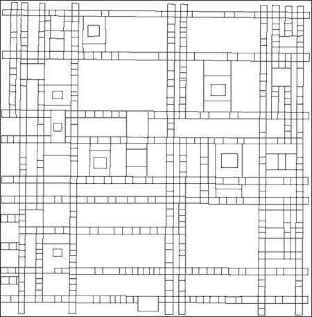 Piet Mondrian Coloring Page Mondrian Piet Mondrian Coloring Pages