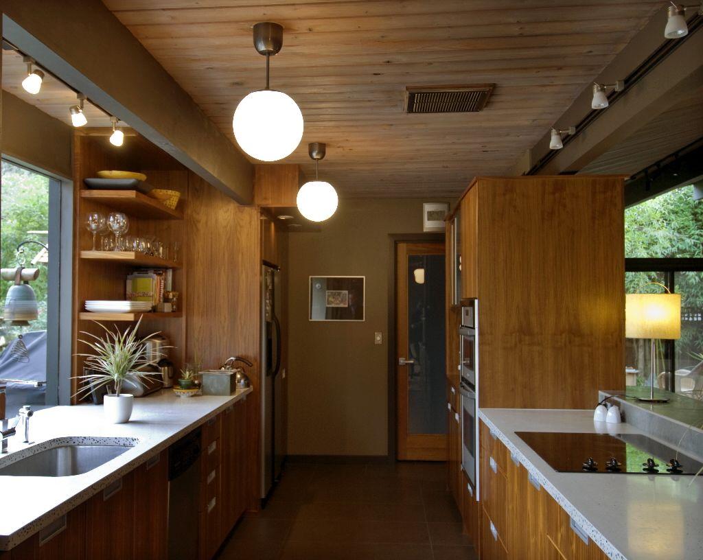 Trailer home interior remodeled.
