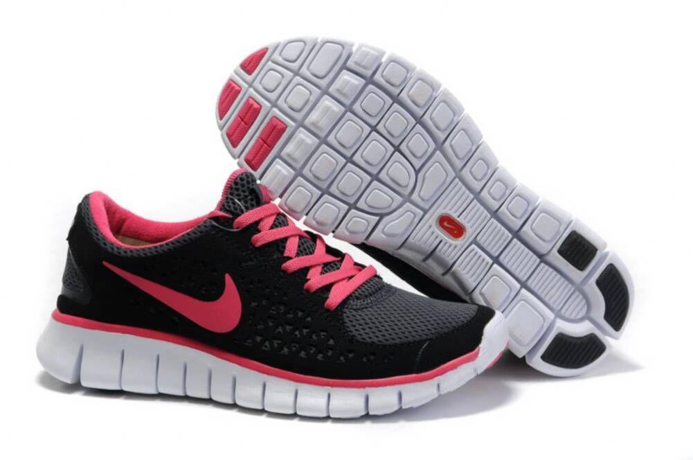Pink nike shoes, Nike free