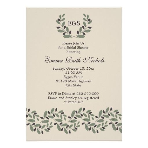 Olive Branch Garland And Wreath Grecian Style Beige
