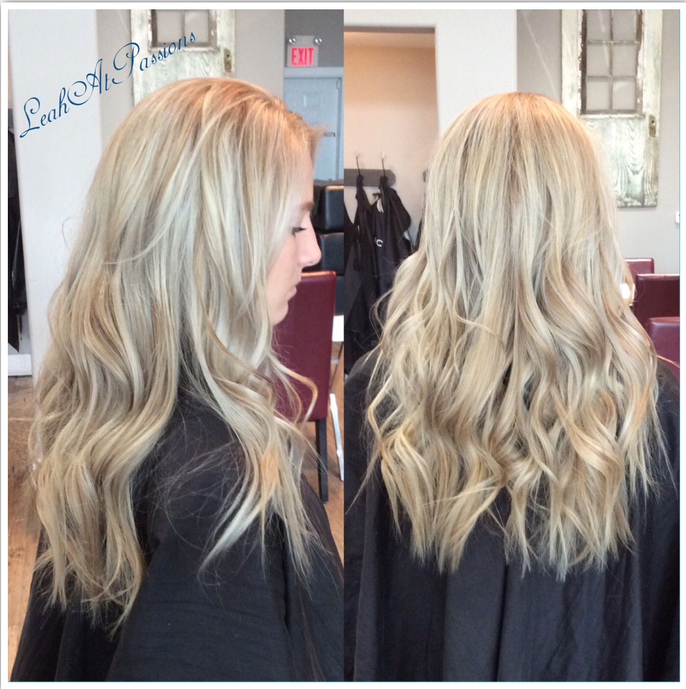 Full Head Highlight Toned A Beautiful Ashy Pearl Blonde Hair By