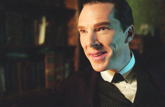 SHERLOCK (BBC) ~ Sherlock Holmes (Benedict Cumberbatch) in the pre-Season 4 special, SHERLOCK: THE ABOMINABLE BRIDE.