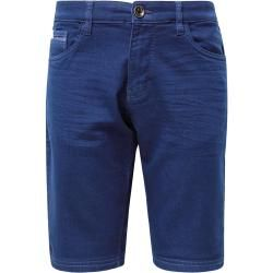 Photo of Tom Tailor Men's Josh Regular Slim Bermuda Shorts, blue, plain, size 31 Tom TailorTom Tailor