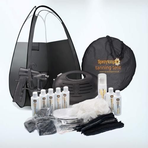 Rapidtan Professional Airbrush Spray Tan Kit - Machine Tanning Tent u0026 Tan & Rapidtan Professional Airbrush Spray Tan Kit - Machine Tanning ...