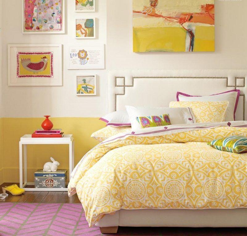 Chambre ado fille en 65 idées de décoration en couleurs Chambre