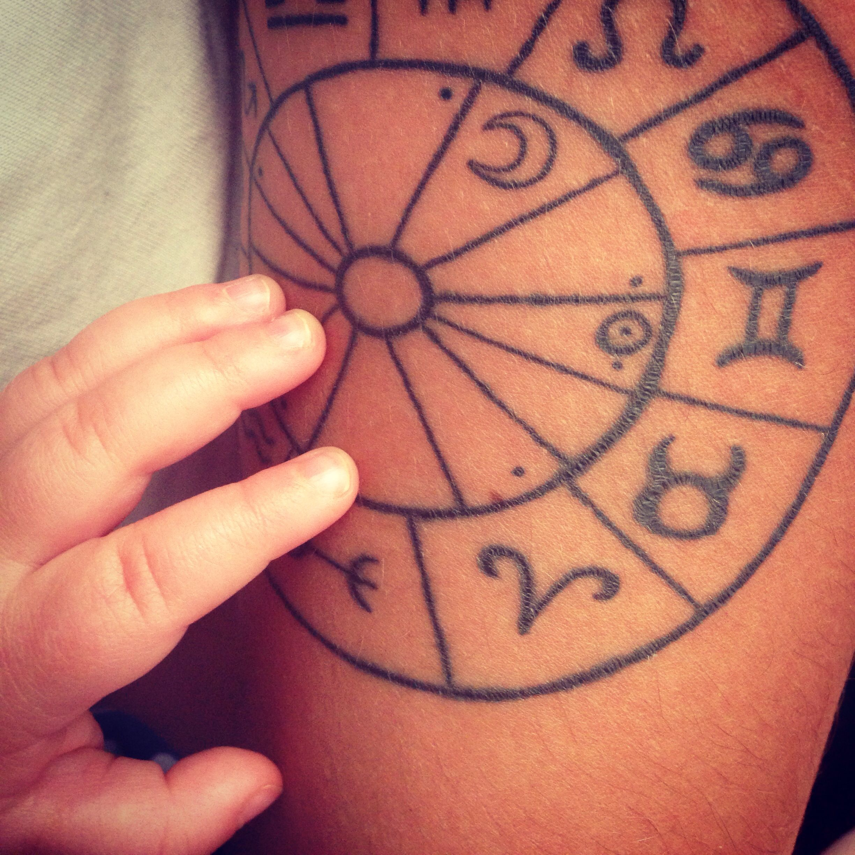 Astrological birth chart tattoo gemini also tattoos rh pinterest