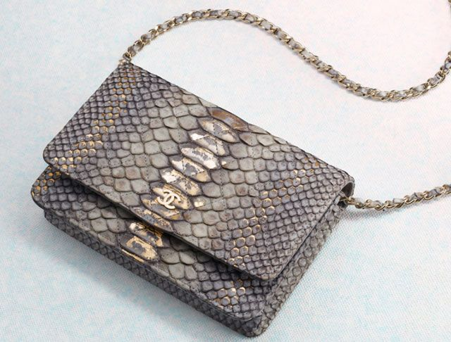 9a6130121c6836 Chanel Python Wallet on Chain Bag | Beautiful bags | Bags, Fashion ...