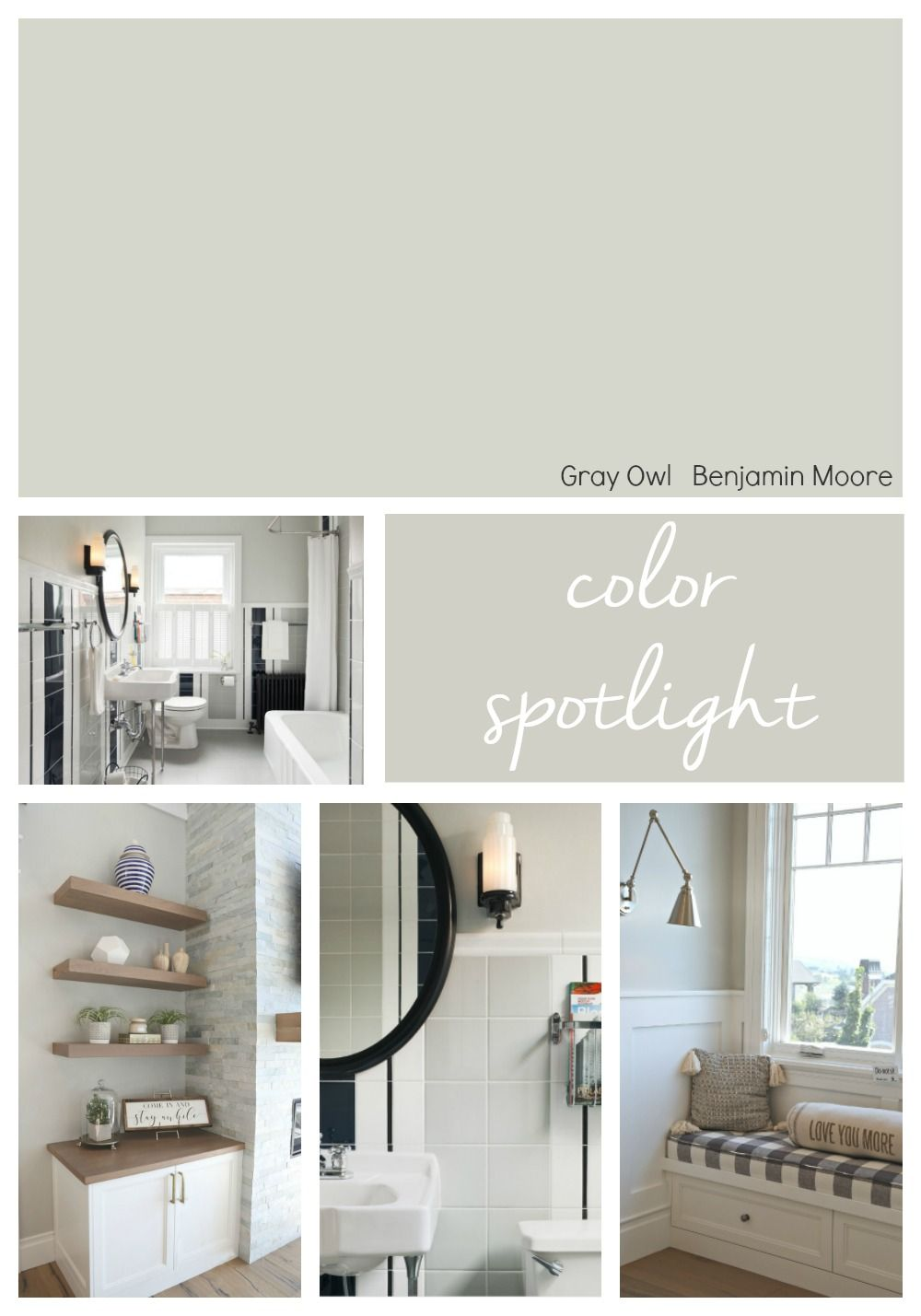 Best Benjamin Moore Gray Owl Color Spotlight Benjamin Moore 400 x 300