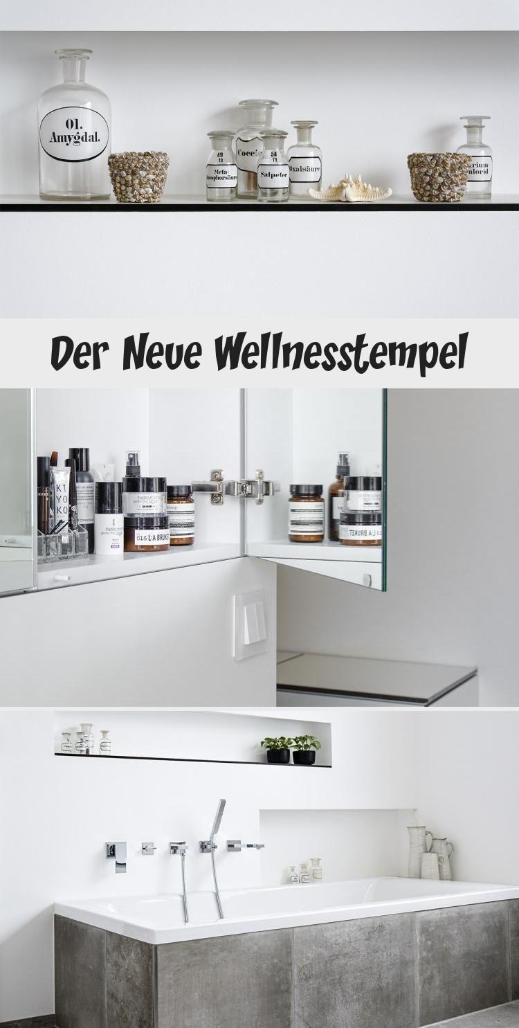 Der Neue Wellnesstempel Led Leisten Bad Design Xxl Fliesen