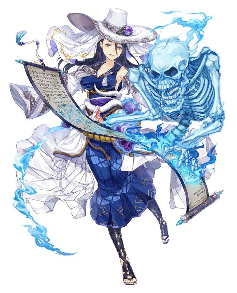 Princess Kaguya, Sorcerer Job Art from SINoALICE art