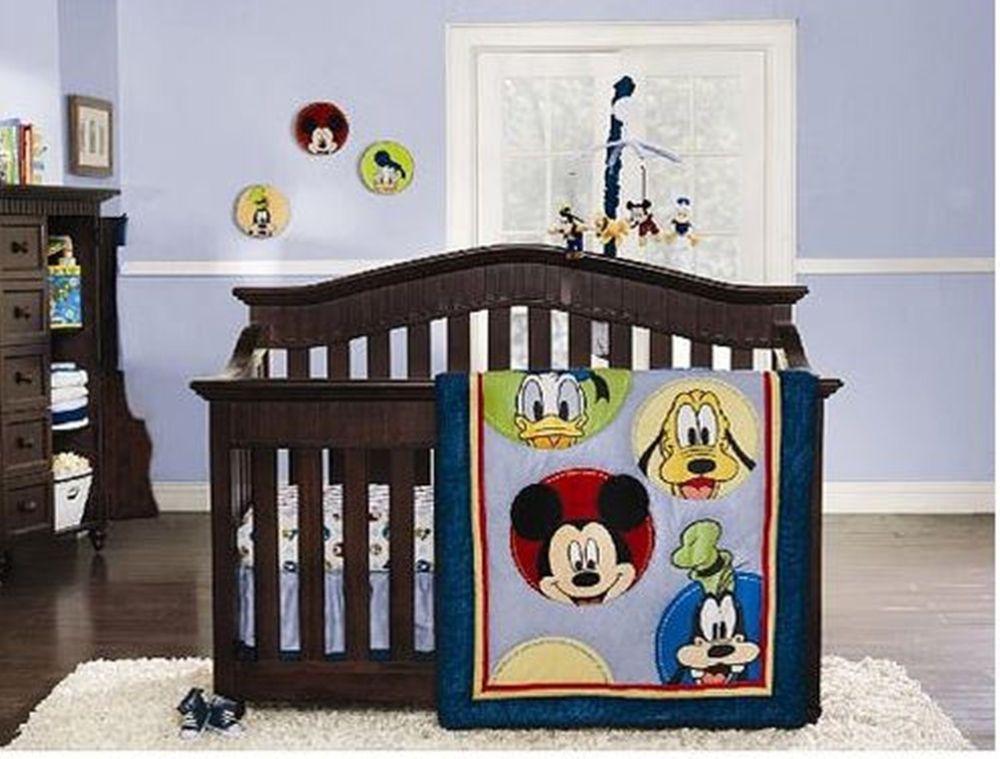 Disney Mickey Mouse Amp Friends 8 Piece Baby Infant Nursery