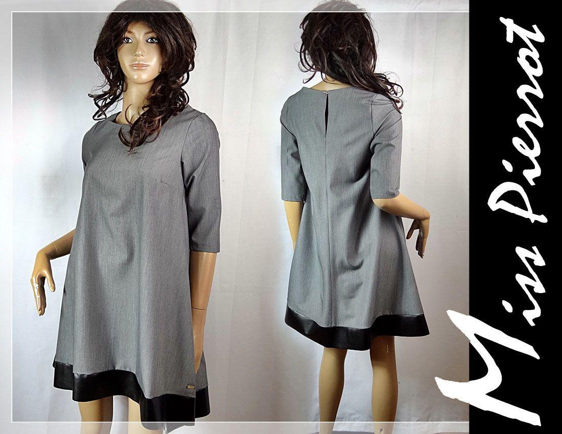 38eecbaae858c sukienka trapezowa Prada | Suknia NA CODZIEŃ | Dresses, Dresses with ...