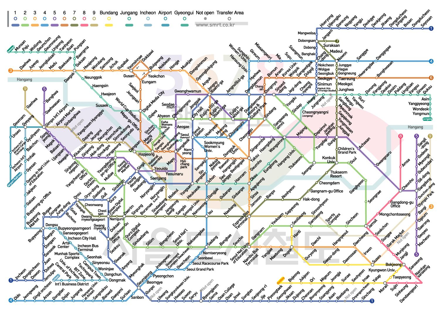 Tokyo Subway Map In English In The Station.Seoul Korea Metro Map English I Can T Believe How Much It S