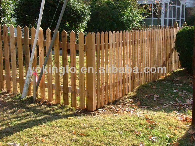 Cercas feitas de paletes de madeira buscar con google - Cercas de jardin ...